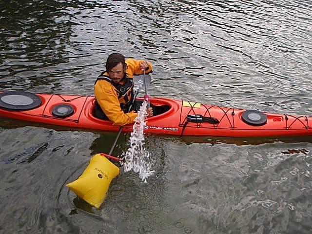 Dual Chamber Sea Kayak Safety Paddle Float